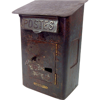 Antique French Poste Box c. 1900-1920