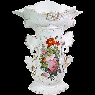 'Porcelaine de Paris' French Hand Painted Vase
