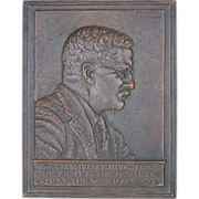 Plaque After James Earle Fraser, American 1876-1953