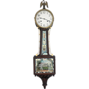 Federal-Style Banjo Clock, late 19th C.