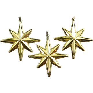 1976 Reed & Barton Sterling Silver Christmas Star Medallion