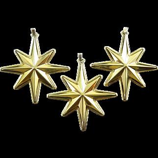 1976 Reed & Barton Sterling Silver Christmas Star Medallion