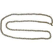 Matinee Length Baroque Pearl Necklace