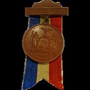 Gettysburg Dedication Civil War Monument Medal GAR Pennsylvania 1893