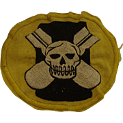 Original WWII Heavy Bomber Jacket Patch 527th Bomb Squadron USAAC Army Air Corps