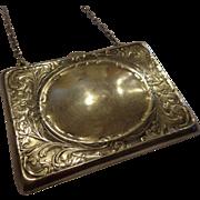 Gorgeous Art Nouveau Sterling Silver Purse by Blackinton Engravable