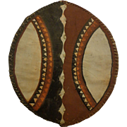 Authentic Masai Shield Africa Vintage African Art