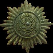 Original WWII German Eastern People's 1st Class Medal Military Badge