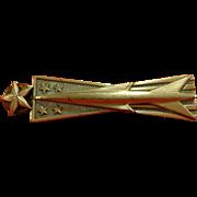 1950s Sterling Air Force Senior Ballistic Missile Officer Badge