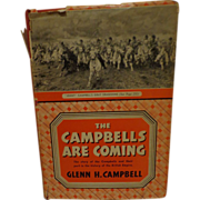 Very Rare Scottish Book The Campbells Are Coming Highlander Clan Military History