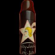 Rare Rabasse Perfume Bottle Flapper Hollywood Paris Theme