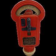 Vintage Parking Meter by Miller Midcentury Art Deco Design Patriotic