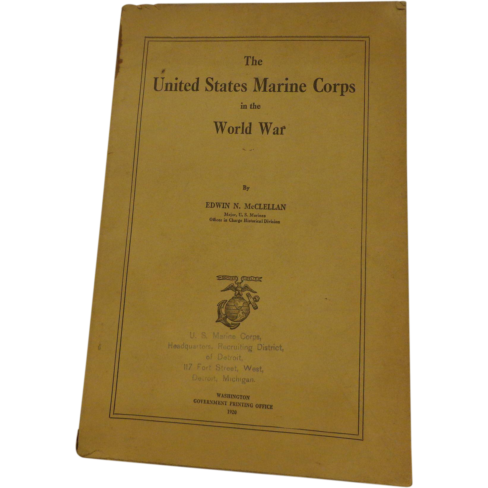 united states marine corps and book The marine shop is part of the marine corps association & foundation i am the backbone of the united states marine corps books view all books.