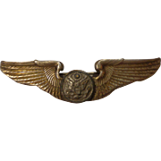 Rare Sterling WWII K. G. Luke US Army Air Corps Wings Made in Melbourne Australia