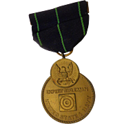 WWII Navy Expert Rifleman Medal Military USN