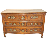 Louis XIV French Provincial Walnut Commode / Chest, mid 18th century