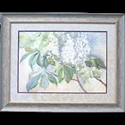 """Hydrangea"" Watercolor on Paper"