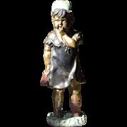 Cast Bronze Sculpture of a Child
