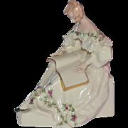 Lenox Porcelain Women Figurine ca. 1906