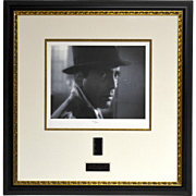 """Casablanca"" Starring Humphrey Bogart Titled ""Goodbye Rick"" Senigraph w/COA 101 of 350"