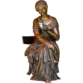 Bronze Sculpture of a Lady