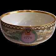 Royal Copenhagen Porcelain Bi Centennial Bowl