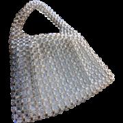 Delill Lucite Handbag Purse Handmade in Italy 1950s