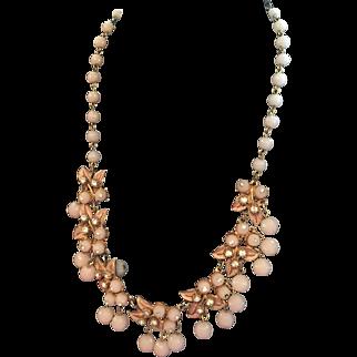 Florenza Bib Necklace Vintage Jewelry