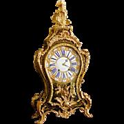 Louis XV marquetry cartel clock - Causard - Paris - mid 18th century