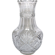 Antique French spectacular Baccarat crystal vase, early 20th century