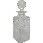 Baccarat crystal whiskey / cognac / brandy decanter