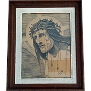 Portrait of Christ Signed by Gusty