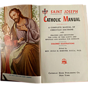 1959 St. Joseph Catholic Manual with Illustrations