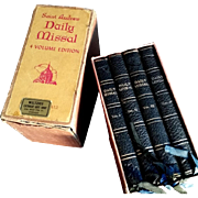 1951 Saint Andrew Daily Missal Set - Red Tag Sale Item