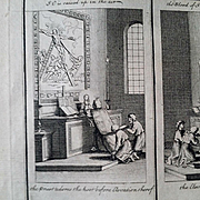 1730 Engraving by Picart showing Liturgy of the Catholic Church