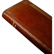 1933 Leather Paroissien Romain, French Missal