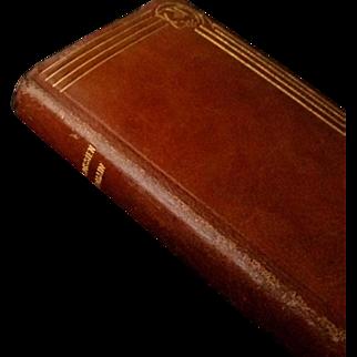 1933 Leather Paroissien Romain, French Missal