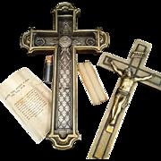 Crucifix Last Rites / Sick Call Set