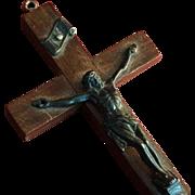 Elegant Wood Crucifix