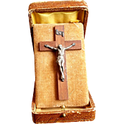 Travel Crucifix with Case