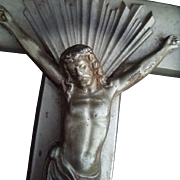 Metal Wall Crucifix