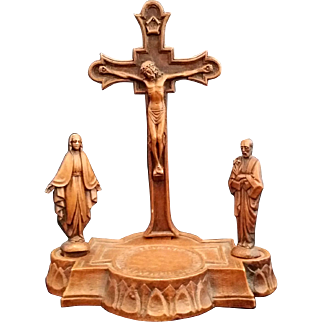 Crucifix Set with Mary and Joseph