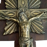 Crucifix with Symbols of the Four Evangelists
