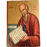 Greek Icon of St. John the Theologian
