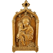 Saint Anthony Wall Plaque