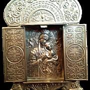 Greek Icon Travel Shrine