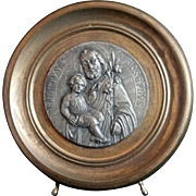 Christ Child with Saint Joseph Oratory Shrine