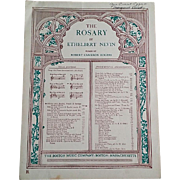 "Sheet Music for ""The Rosary"""