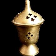 Brass Incense Burner - Red Tag Sale Item