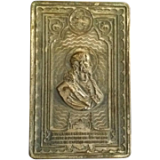 Sacred Heart Home Blessing Plaque